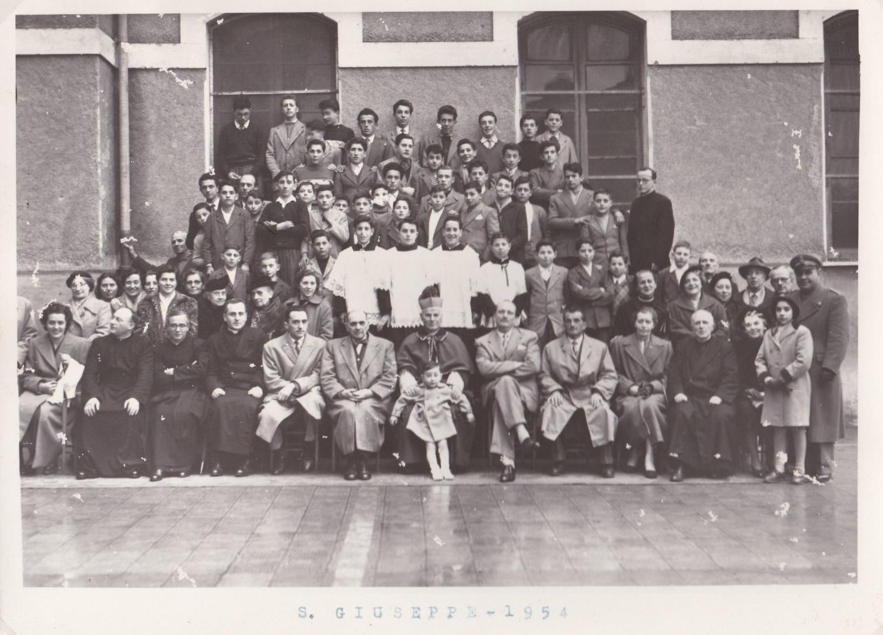 Istituto Bancalari Artigianelli Chiavari foto del 1954