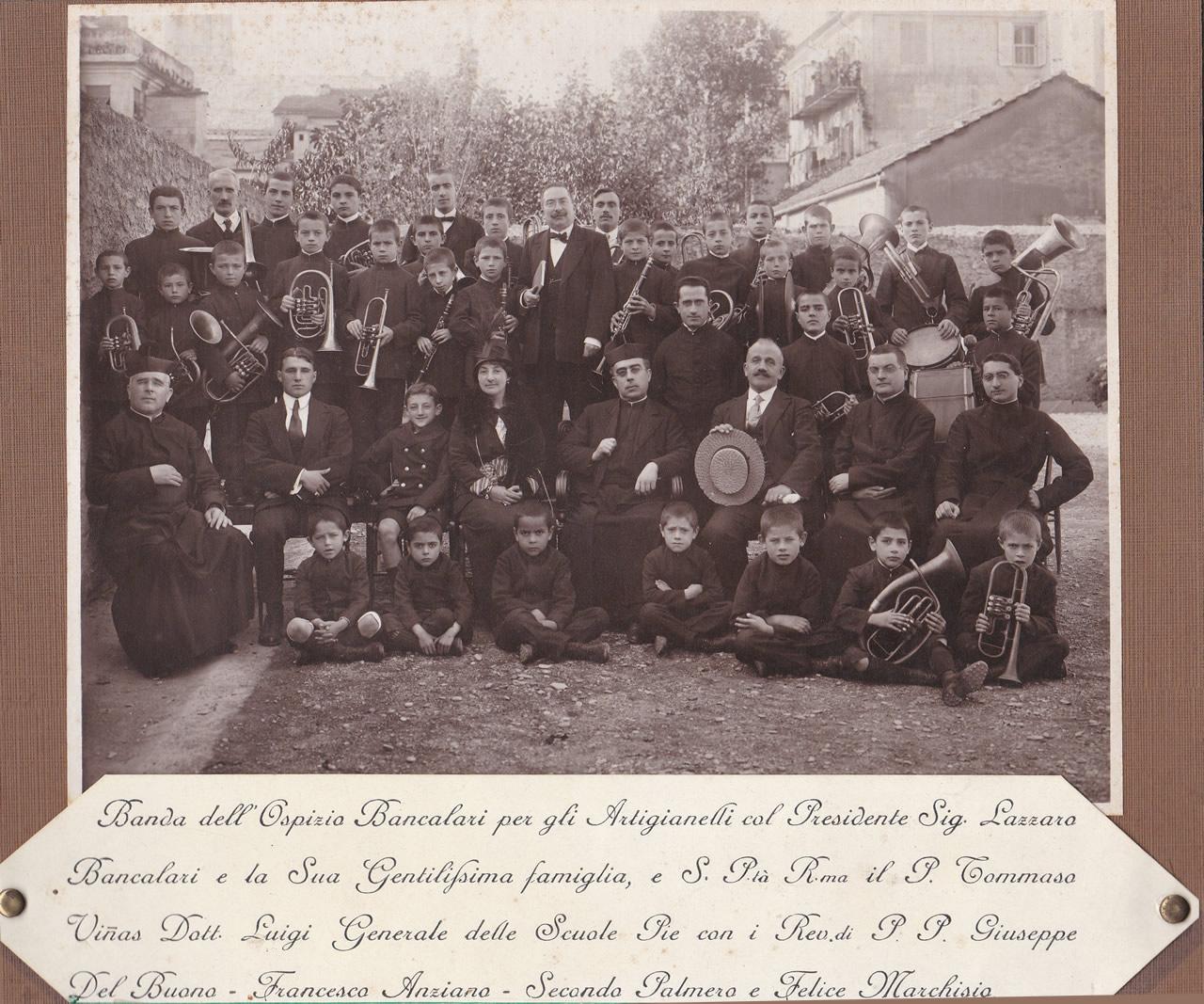 Istituto Bancalari Artigianelli Chiavari foto del 1915